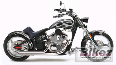 2008 Rhino Hunter Softail FLM-003