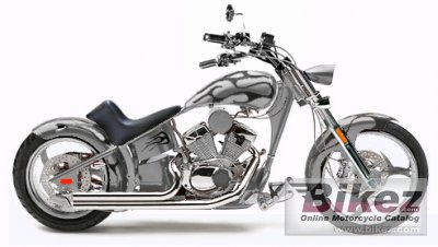 2008 Rhino Hunter Softail FLM-005