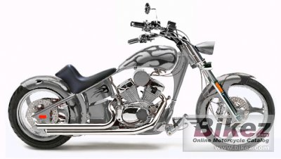 2009 Rhino Hunter Softail FLM005