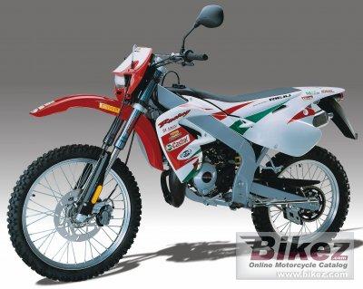2005 Rieju 50 MRX Castrol