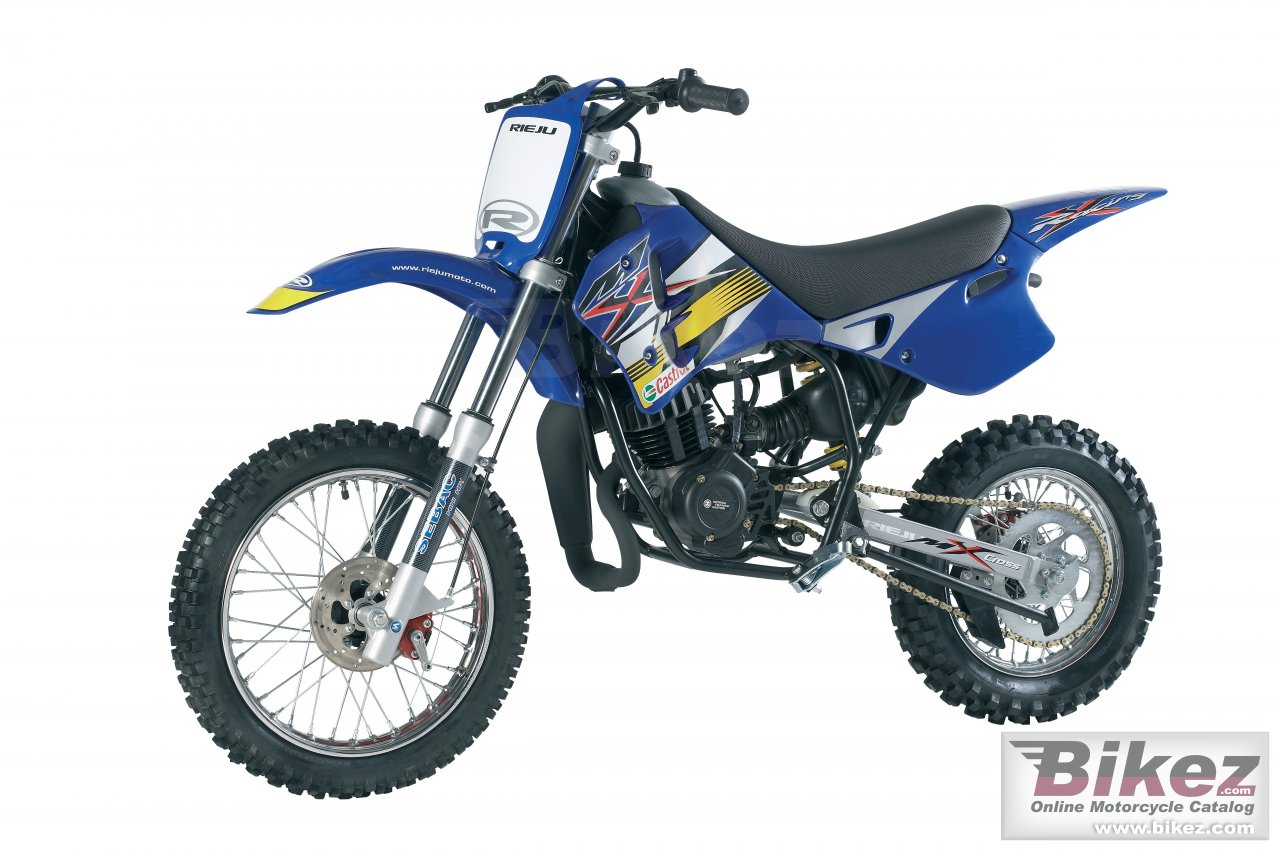 Big Rieju mx 50 disk picture and wallpaper from Bikez.com