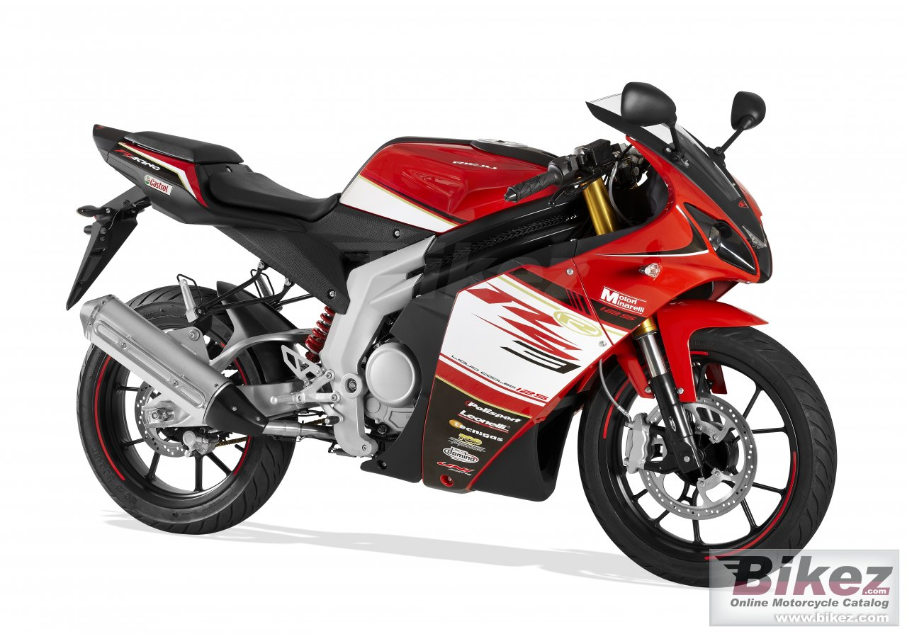 Big Rieju rs3 125 picture and wallpaper from Bikez.com