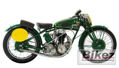 1933 Rudge Ulster 500