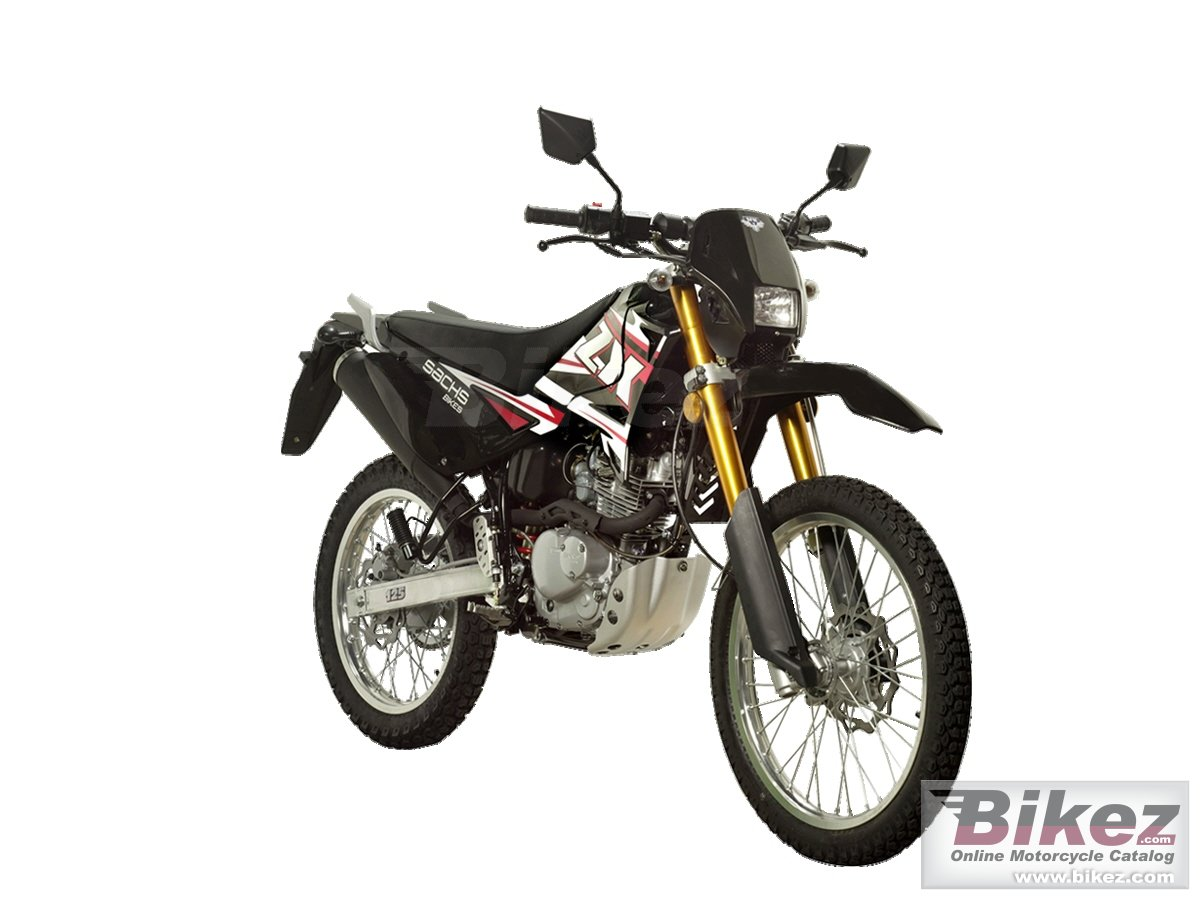 Big Sachs zx 125 enduro picture and wallpaper from Bikez.com