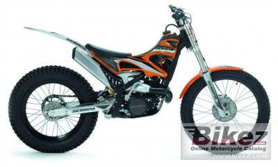 2010 Scorpa SR 125-2T Long Ride photo