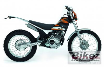 2010 Scorpa SY-125FR Long Ride