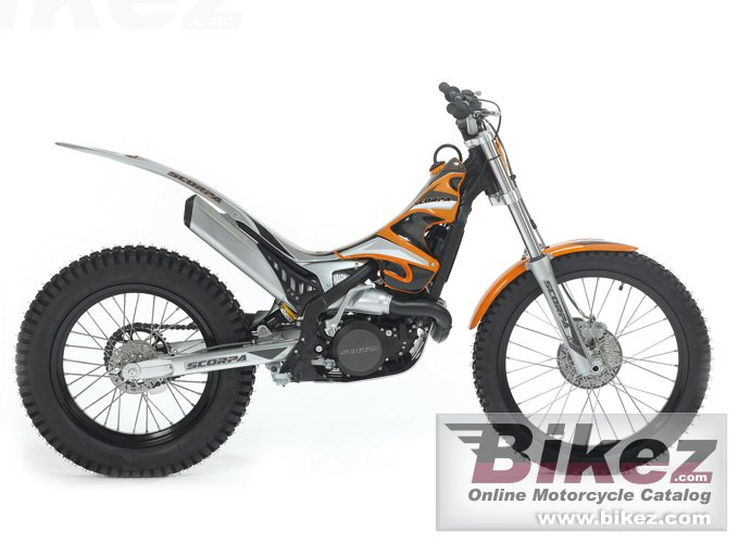 Big Scorpa sr 125-2t picture and wallpaper from Bikez.com