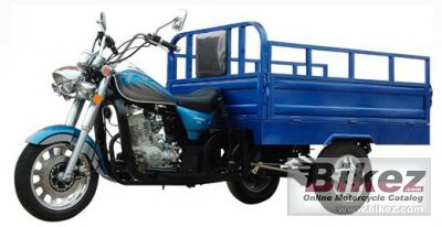 2021 Shanyang SY150ZH-B Cargo Tricycle
