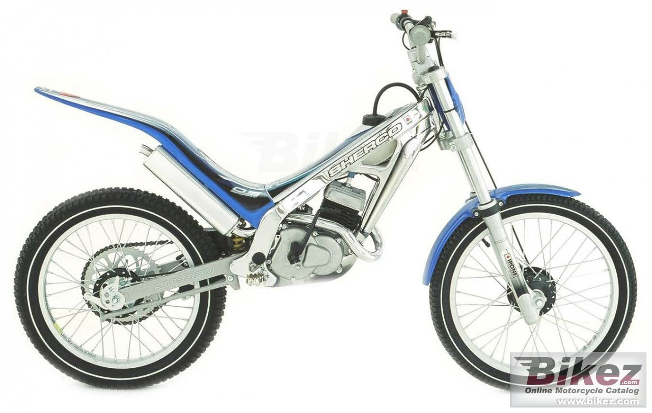 Big Sherco 0.5 kid picture and wallpaper from Bikez.com