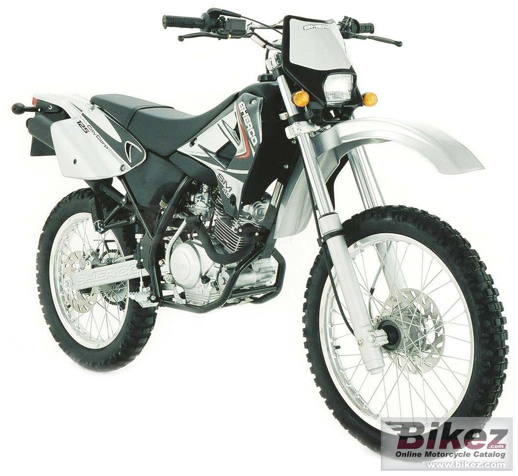 sherco citycorp 125 enduro picture. Black Bedroom Furniture Sets. Home Design Ideas
