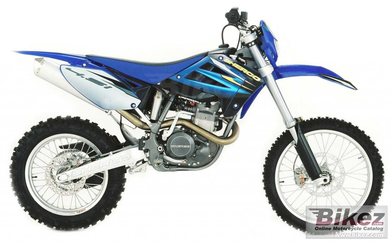 Big Sherco 4.5i enduro picture and wallpaper from Bikez.com