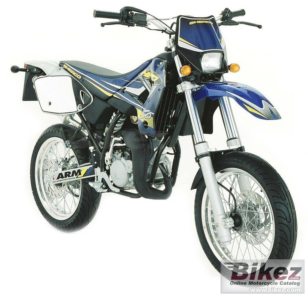 Big Sherco 50 cc sm picture and wallpaper from Bikez.com