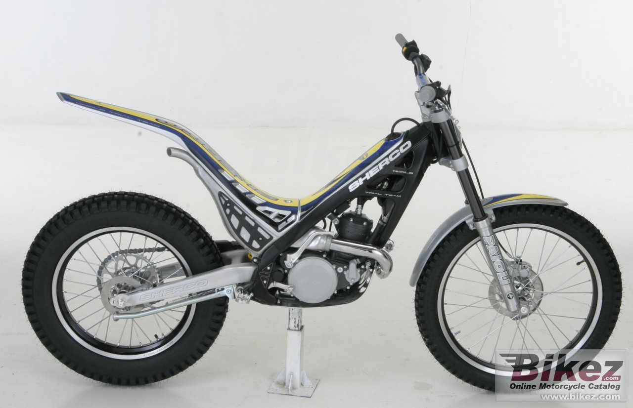 Big Sherco 2.5 picture and wallpaper from Bikez.com