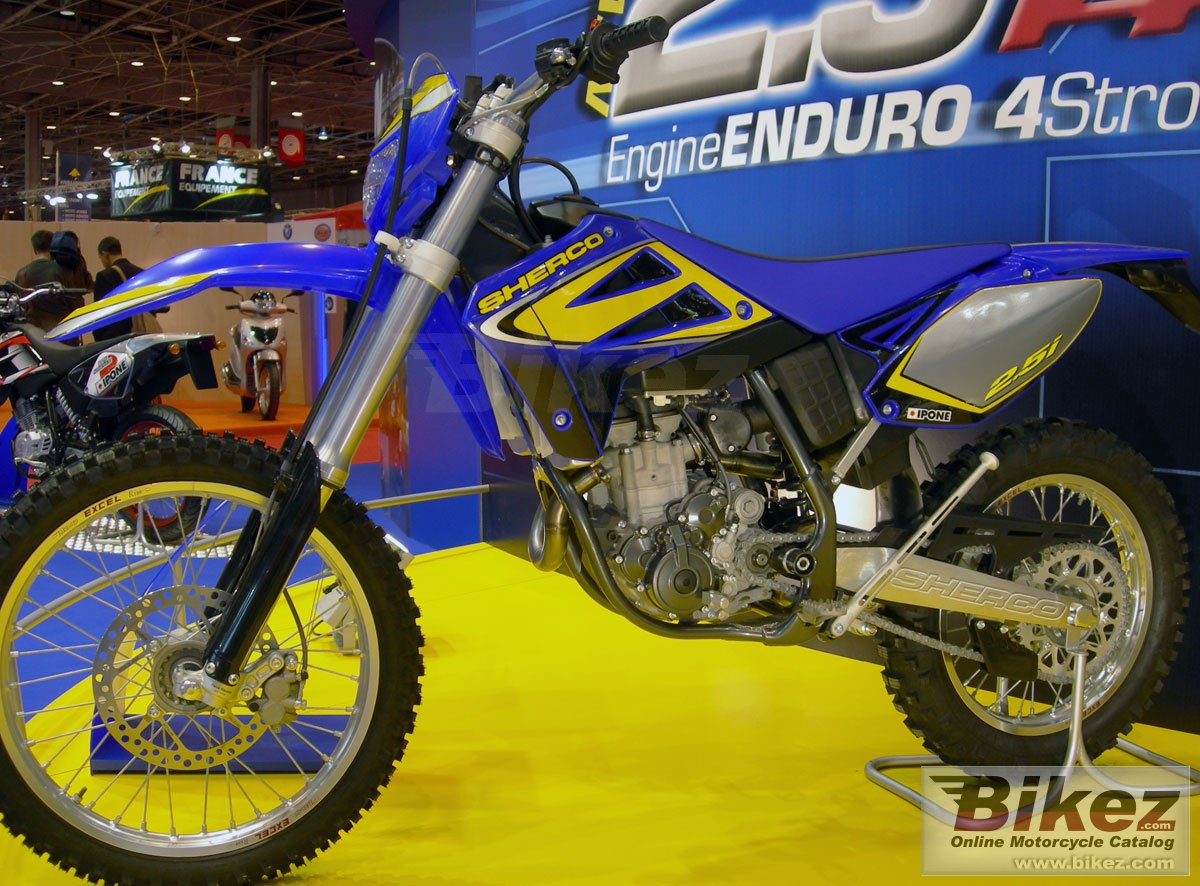Big Sherco 2.5i enduro picture and wallpaper from Bikez.com