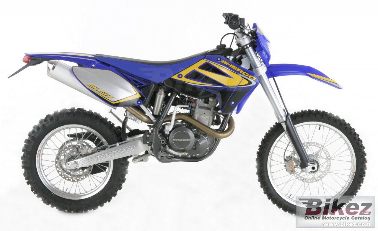 Big Sherco 5.1i enduro picture and wallpaper from Bikez.com