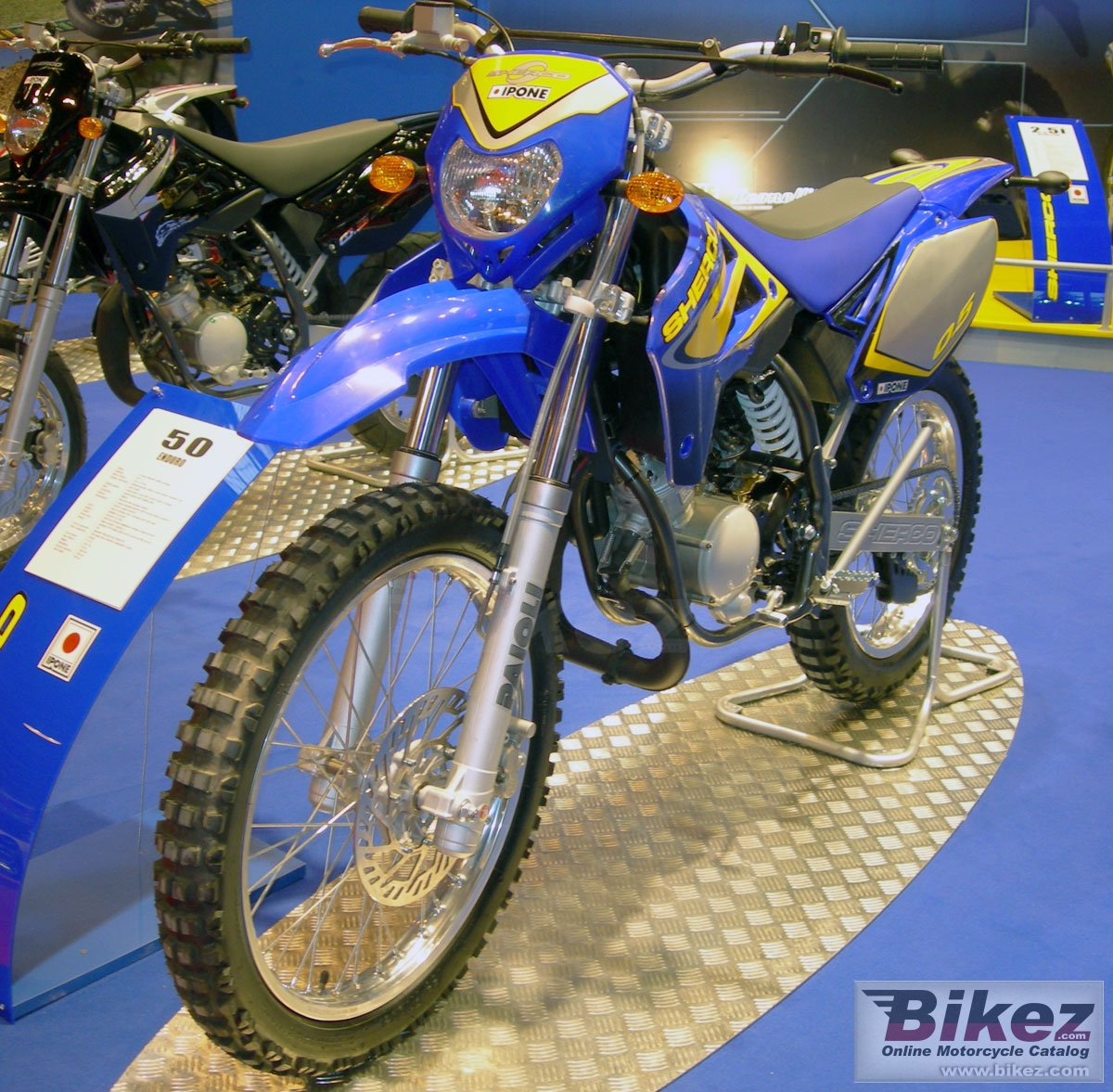 Big Sherco ipone 50 cc supermotard picture and wallpaper from Bikez.com