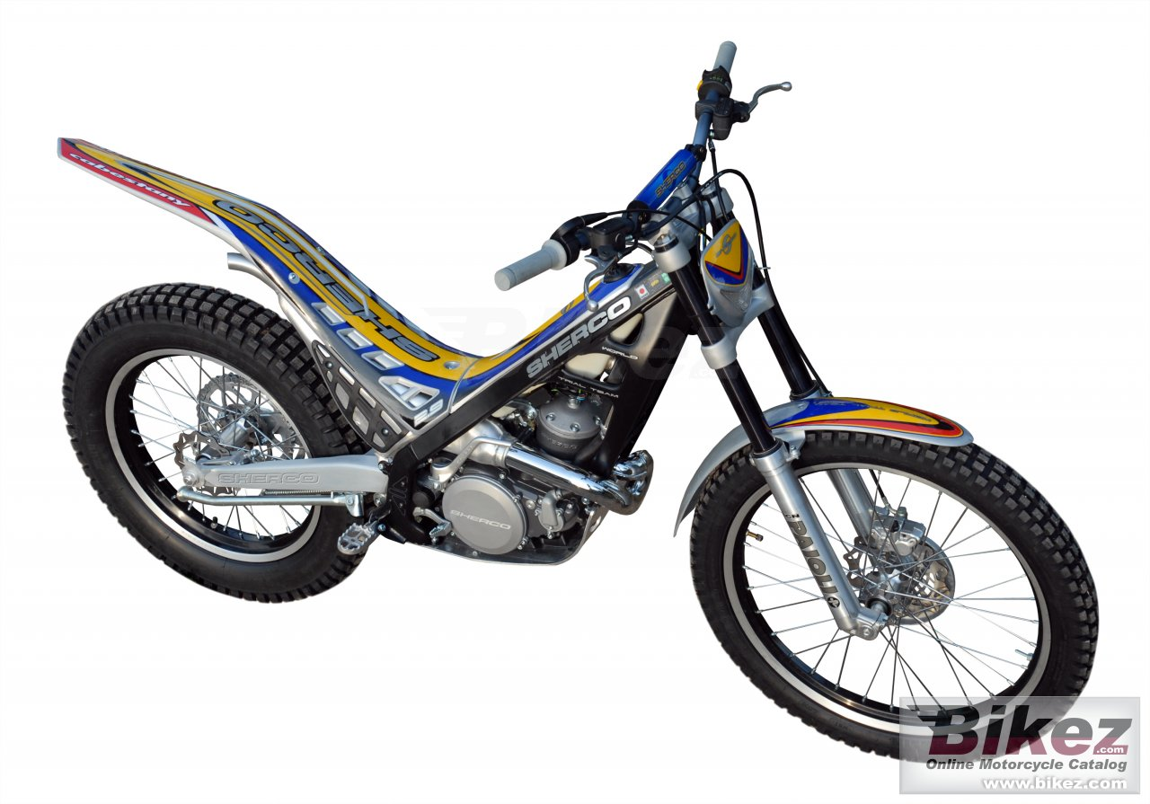 Big Sherco 2.9 cabestany replica picture and wallpaper from Bikez.com