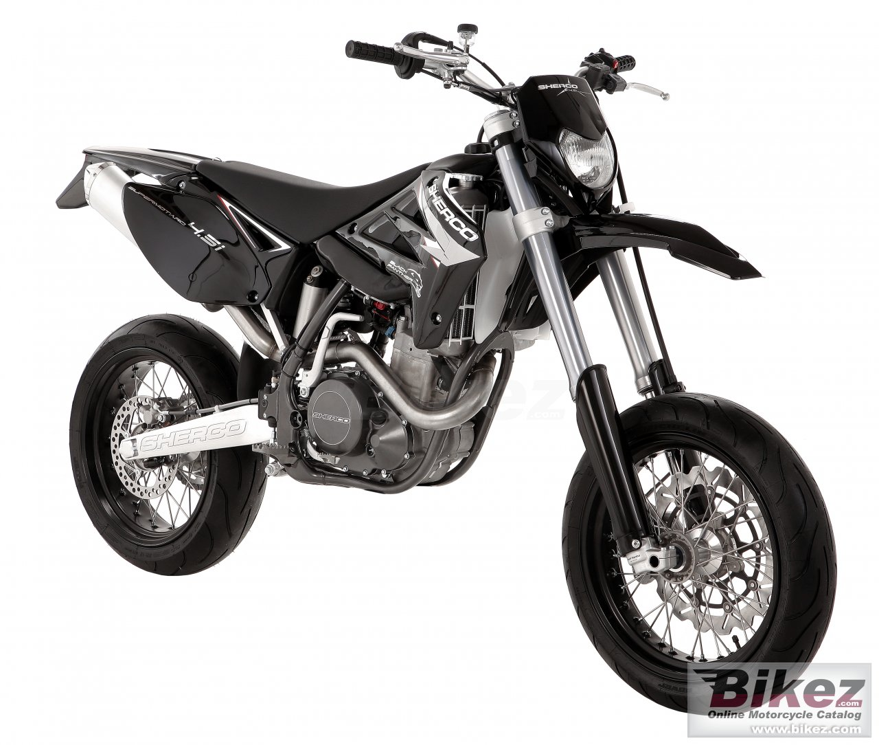 Big Sherco 4.5i 4t supermotard picture and wallpaper from Bikez.com
