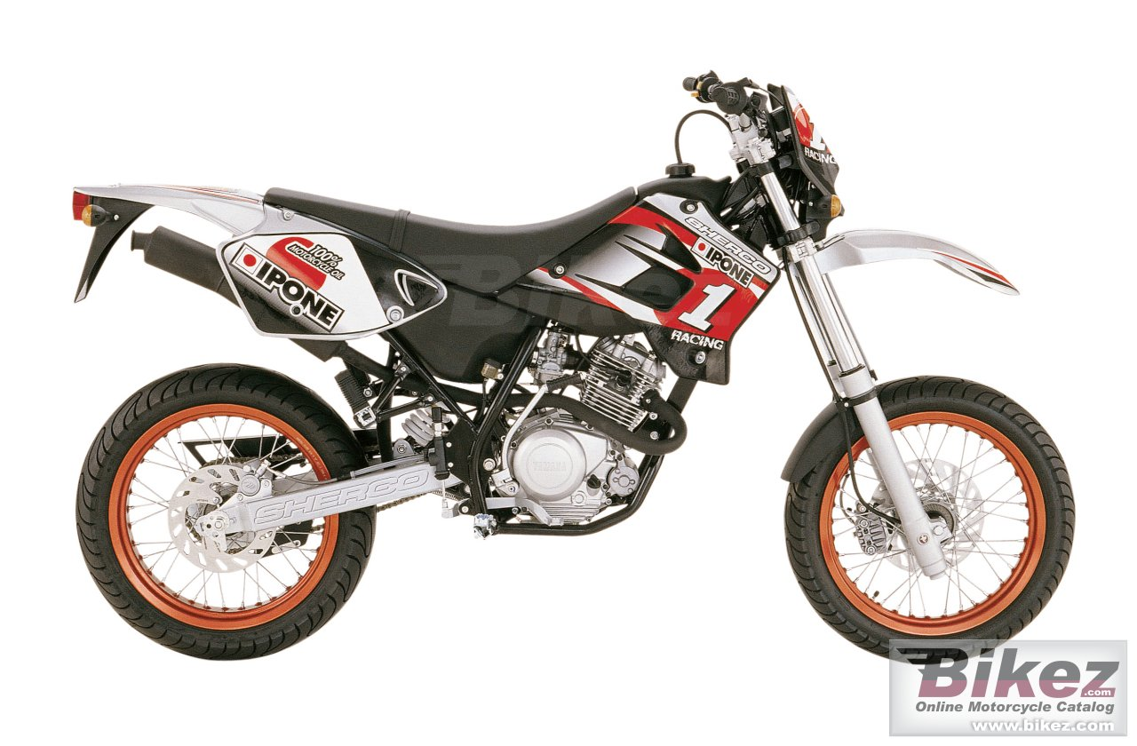 Big Sherco 125cc sm ipone replica picture and wallpaper from Bikez.com