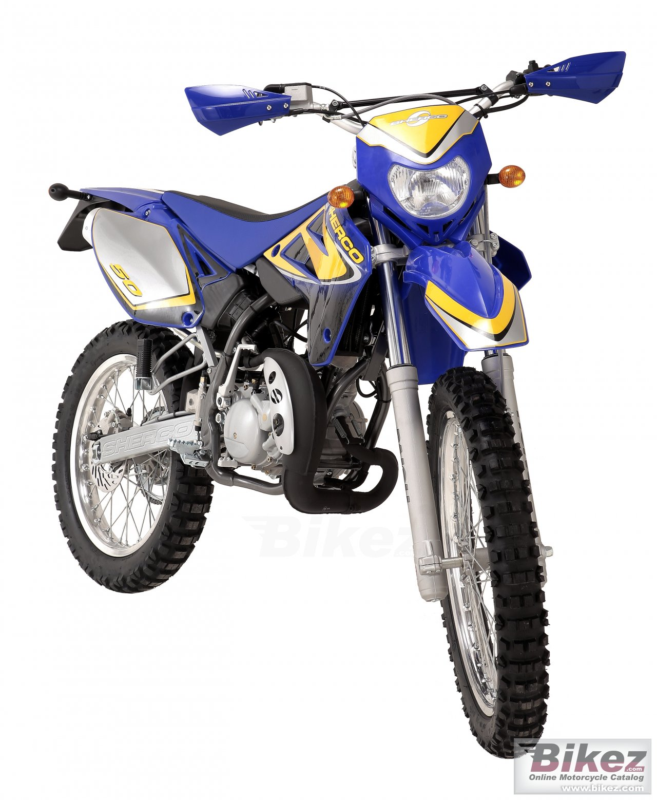 Big Sherco 50cc enduro picture and wallpaper from Bikez.com