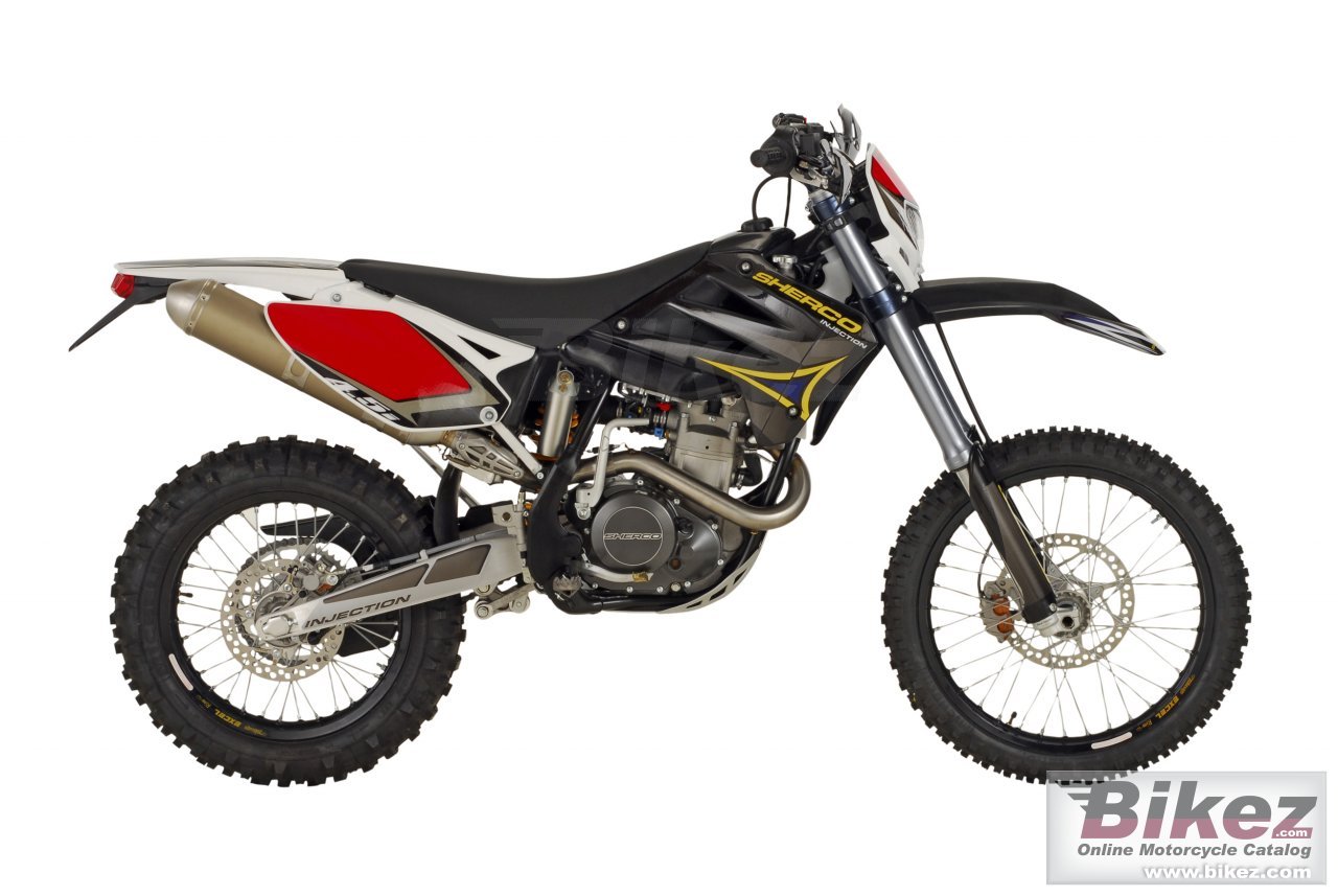 Big Sherco 4.5i 4t enduro picture and wallpaper from Bikez.com