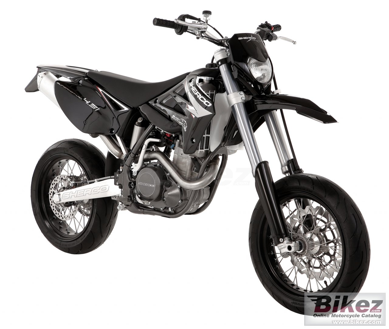 Big Sherco 4.5 4t supermotard picture and wallpaper from Bikez.com