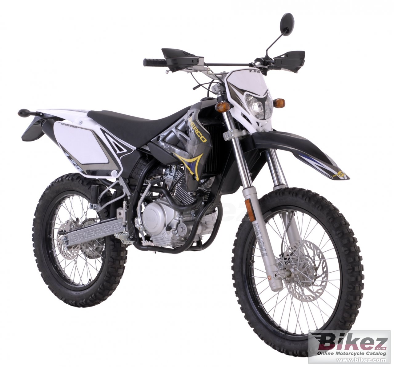 Big Sherco 125cc enduro picture and wallpaper from Bikez.com