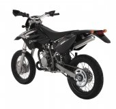 2008 Sherco 50cc SM Black Panther photo