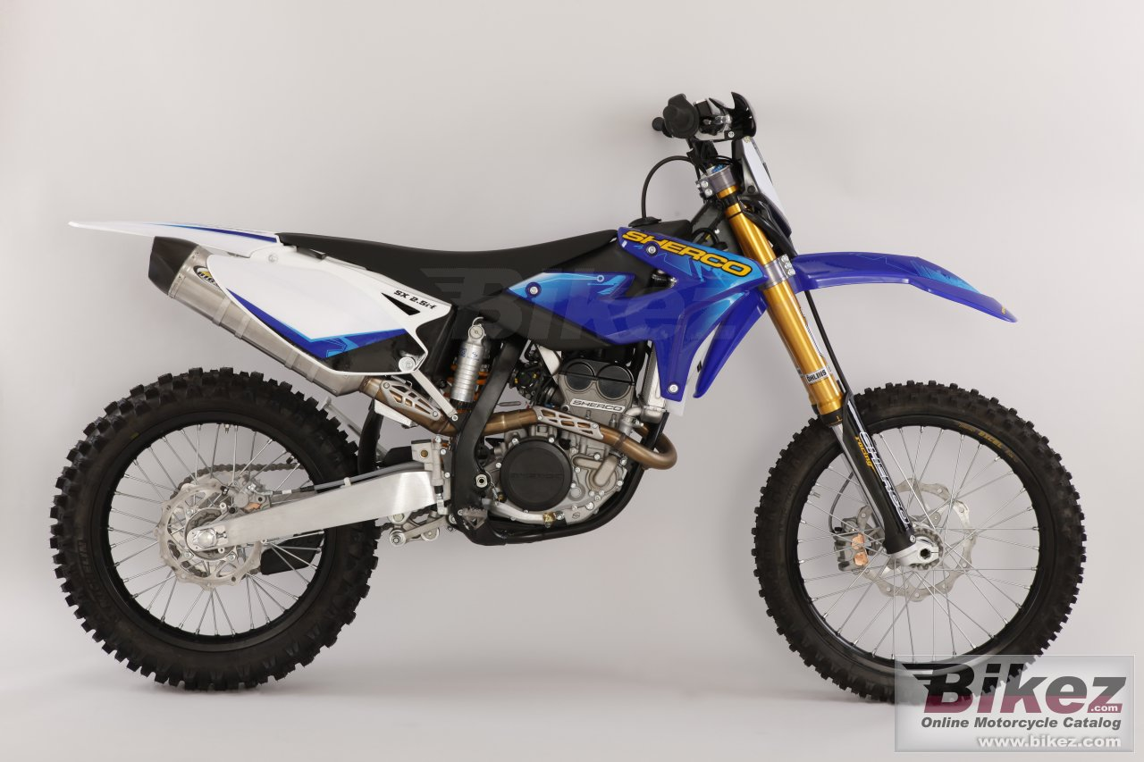 Big Sherco sx 2.5i -f picture and wallpaper from Bikez.com