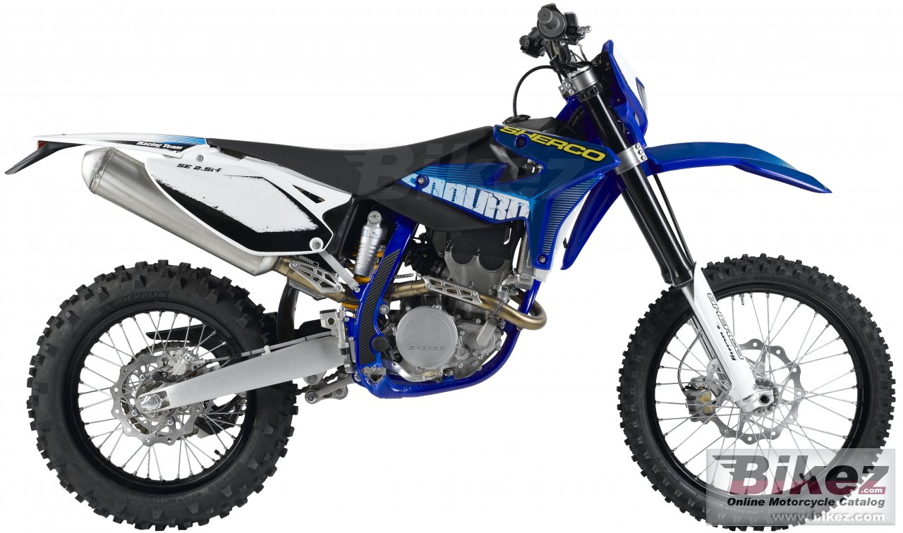 Big Sherco se 2.5i -f picture and wallpaper from Bikez.com