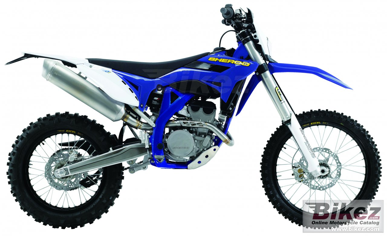 Big Sherco se 300i racing picture and wallpaper from Bikez.com