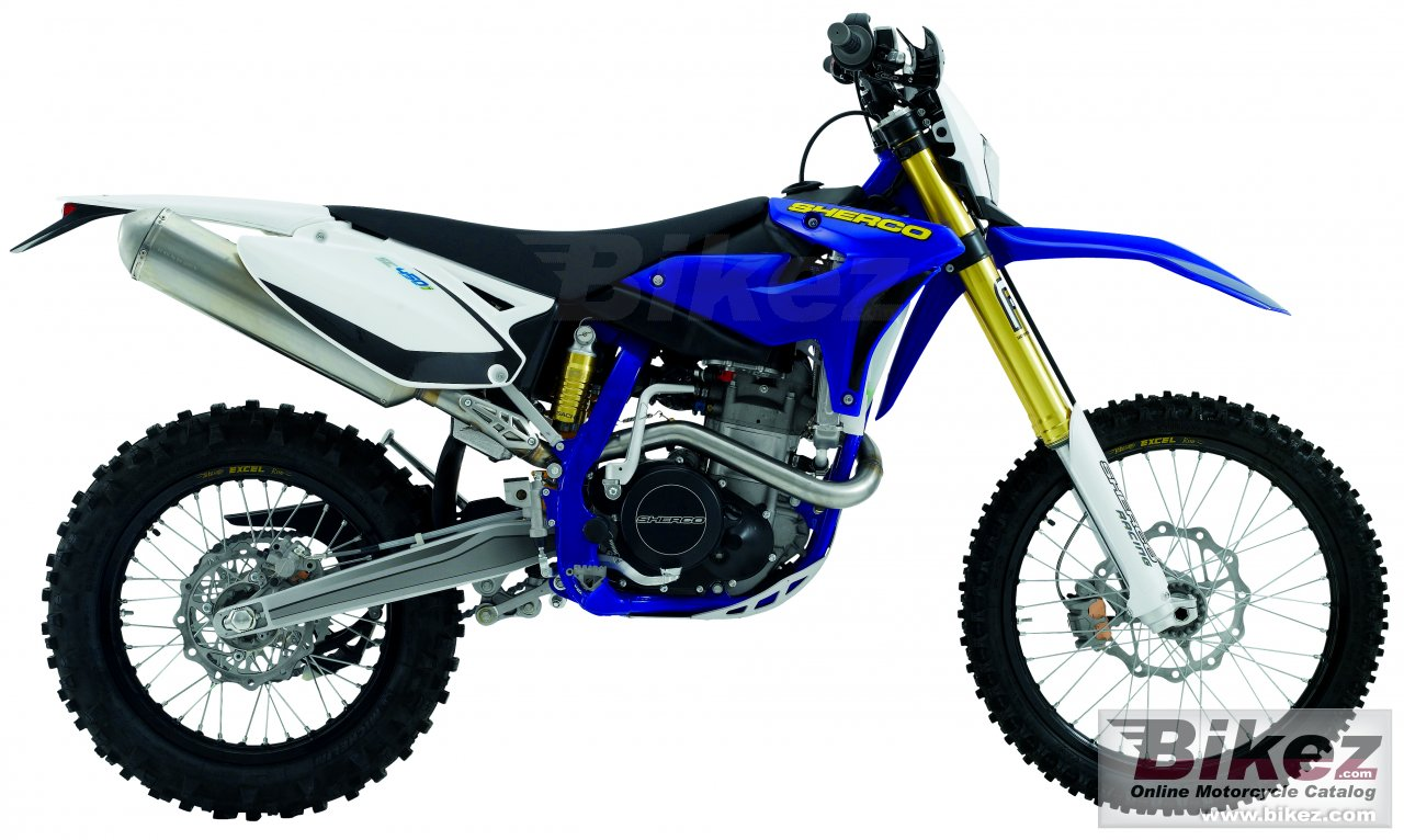 Big Sherco se 450i racing picture and wallpaper from Bikez.com