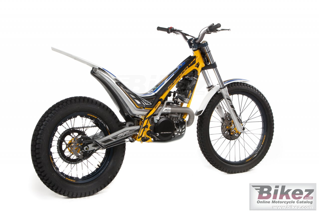 Big Sherco st 80 picture and wallpaper from Bikez.com