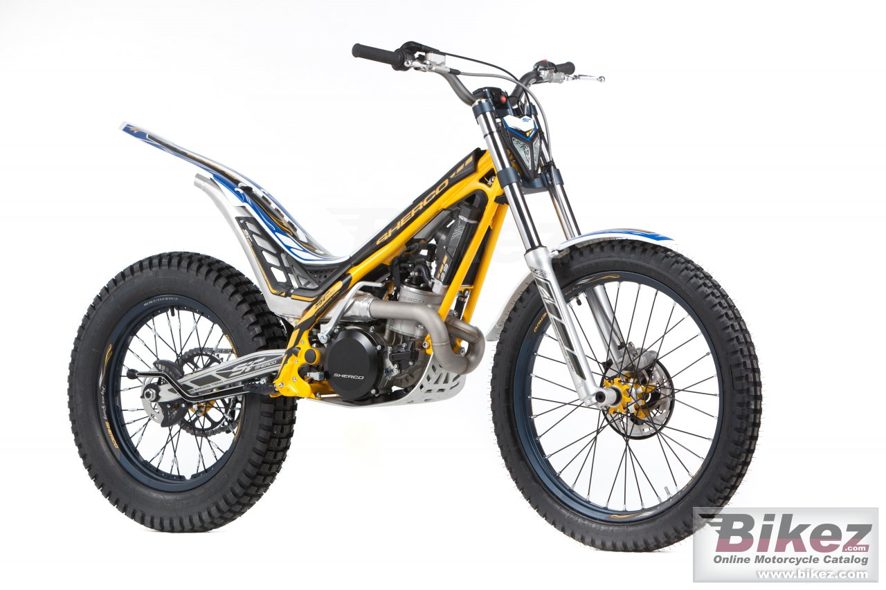 Big Sherco st 250 picture and wallpaper from Bikez.com