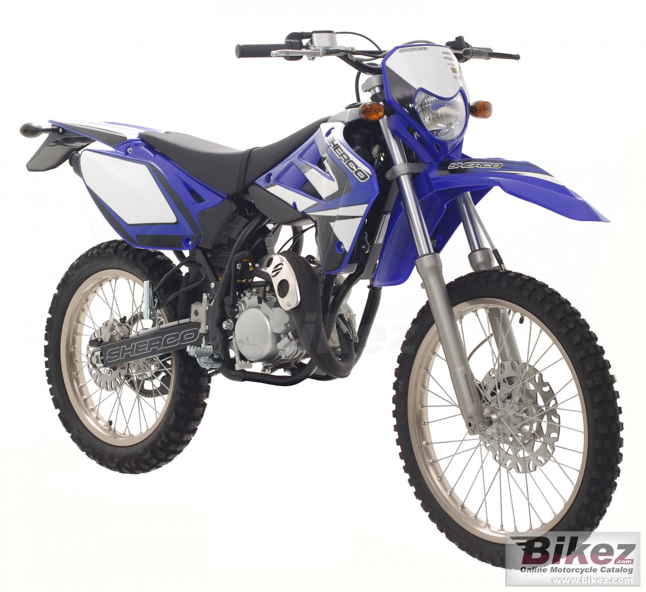 Big Sherco se 50 enduro picture and wallpaper from Bikez.com