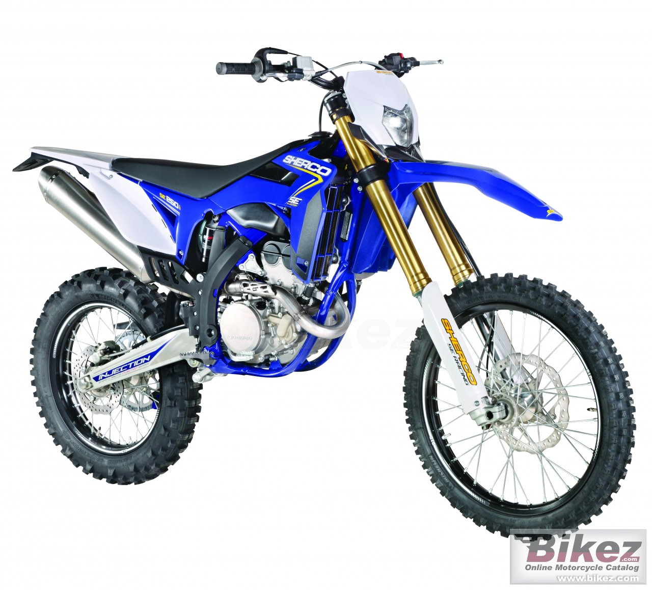 Big Sherco se 250i enduro picture and wallpaper from Bikez.com