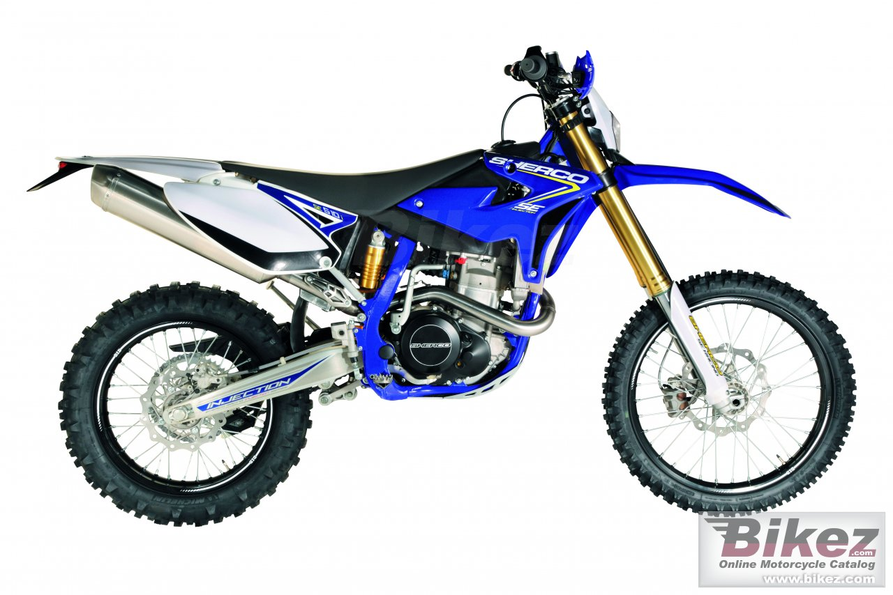 Big Sherco se 510i racing picture and wallpaper from Bikez.com