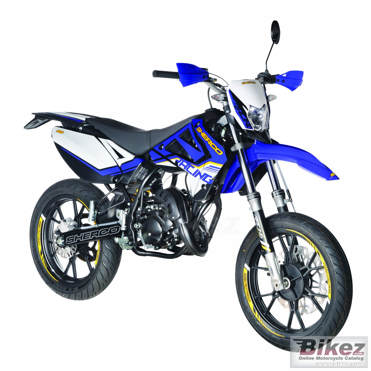 Big Sherco sm 50 supermoto picture and wallpaper from Bikez.com