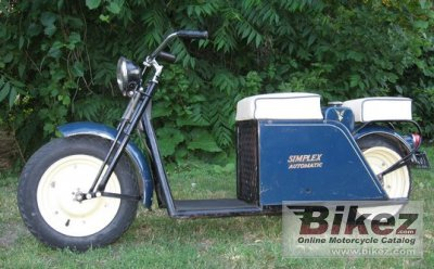 1959 Simplex Scooter 150