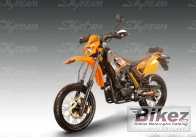 2009 Skyteam ST125 SM specifications and pictures