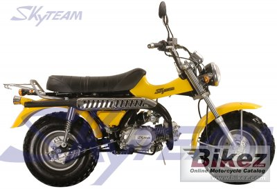 2009 skyteam t rex 125 specifications and pictures. Black Bedroom Furniture Sets. Home Design Ideas
