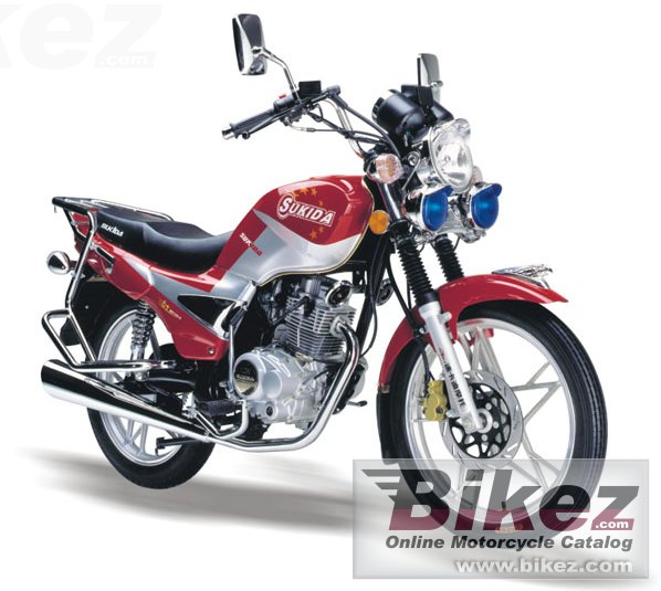 Big Sukida sk-125-6 patriot picture and wallpaper from Bikez.com