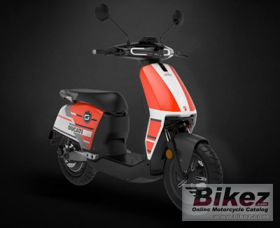 2021 Super Soco Cux SE Ducati