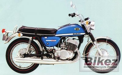 1970 Suzuki T 500 photo