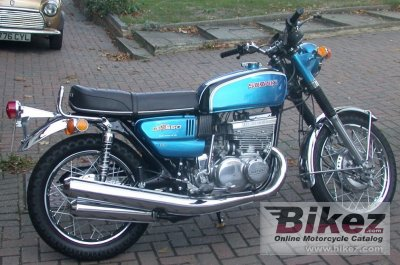 1972 Suzuki GT 550 J photo