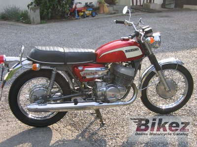 1972 Suzuki T 500 photo
