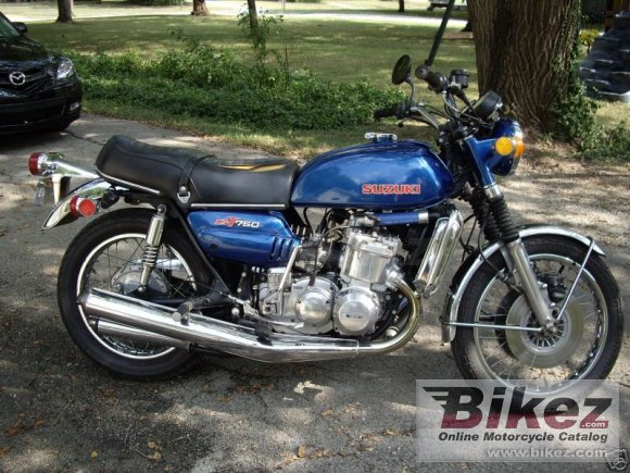 1973 Suzuki GT 750 photo