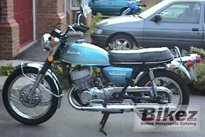 1974 Suzuki T 500 photo