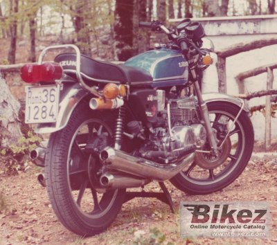 1974 Suzuki GT 380 photo