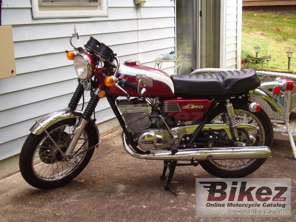 1974 Suzuki GT 250 photo